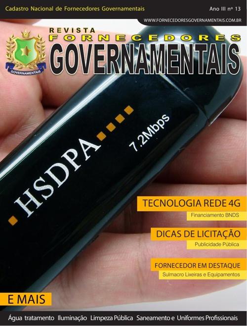 Revista Fornecedores Governamentais 13