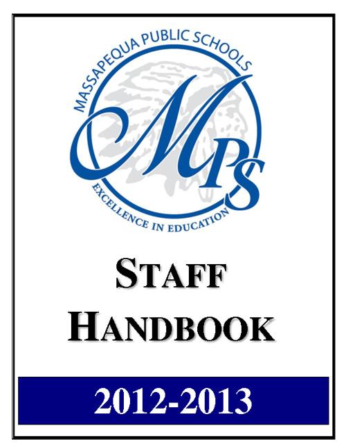 Staff Handbook 2012-13