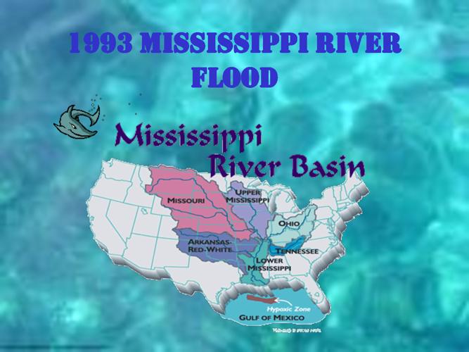 Mississippi River Flood 1993 (Great Flood of 1993)