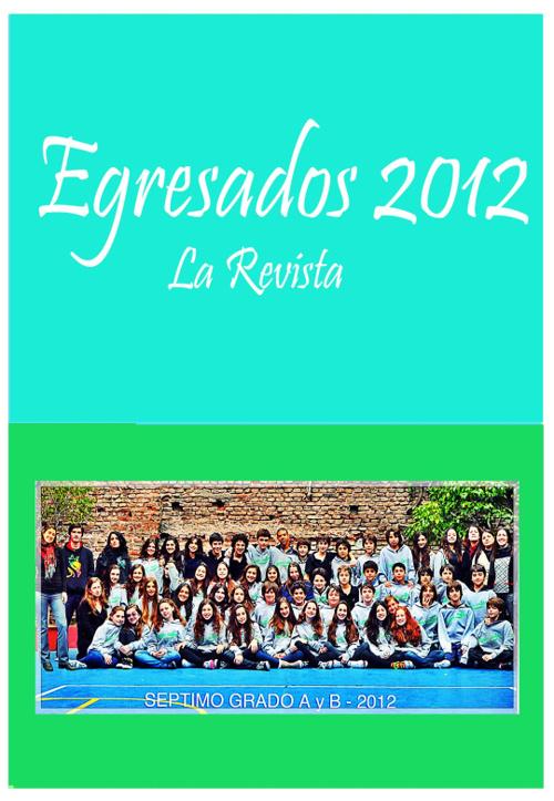 Revista de Egresados 2012