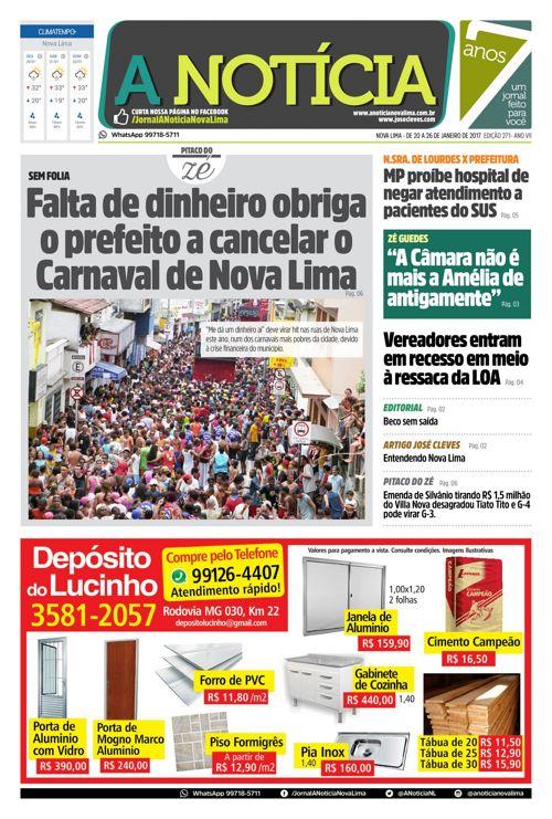 Jornal A Notícia - Edição 271
