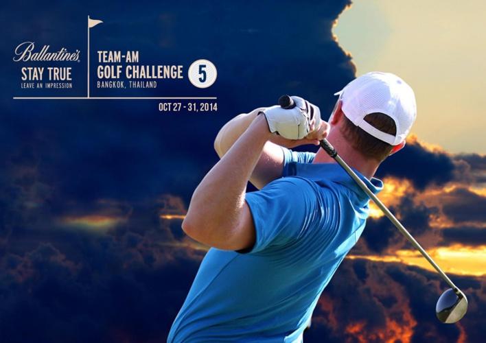 Ballantine's Team-Am Golf Challenge 5, Bangkok, Oct 27-31, 2014