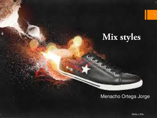 Mix styles