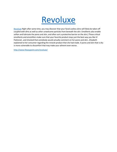 Revoluxe