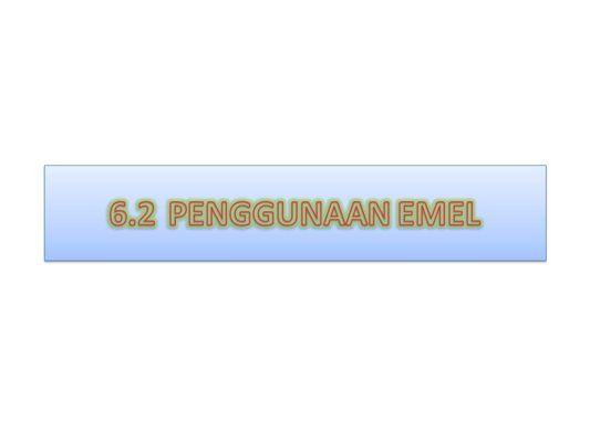 penggunaan email