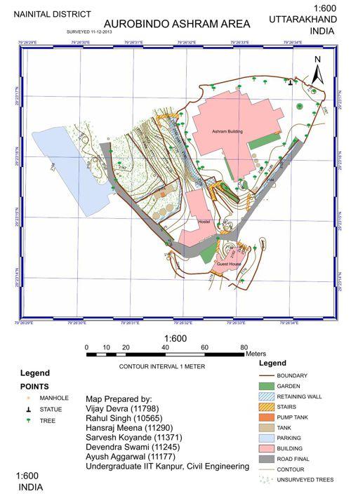 Nanital Map