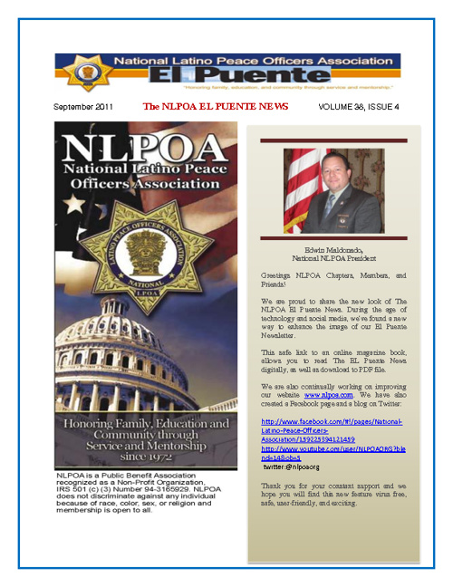 NLPOA El Puente News - September 2011