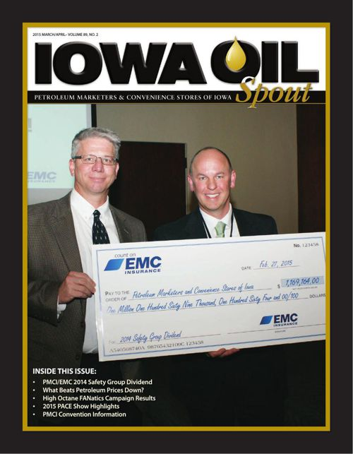 2015 Iowa Oil Spout - March April