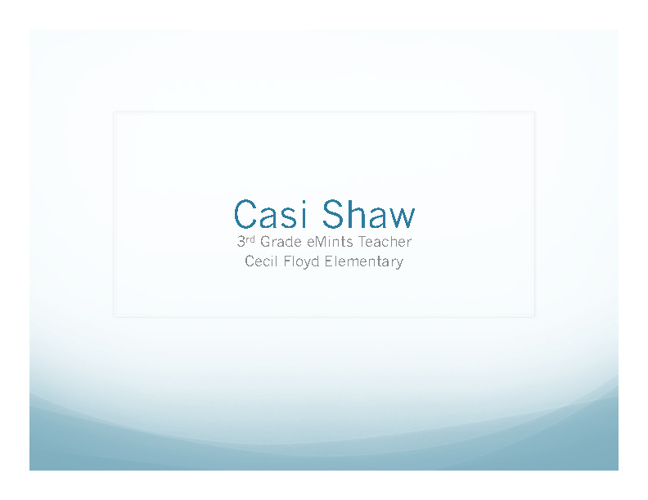 Casi Shaw
