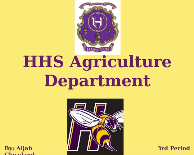 HHS Agriculture Department