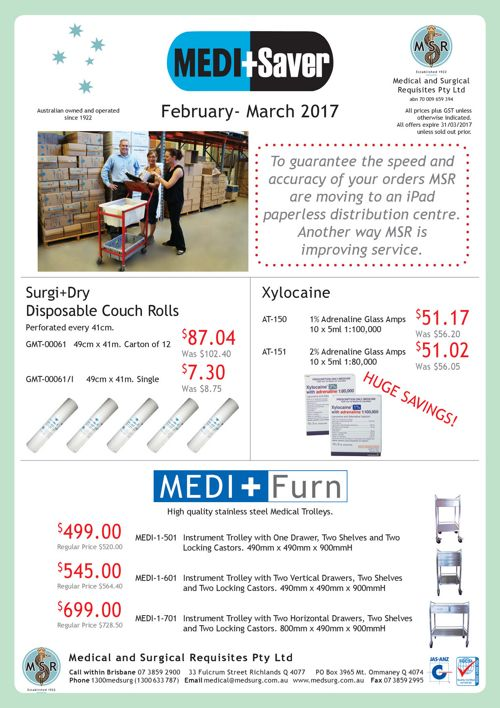 MEDI+Saver February - March 2017