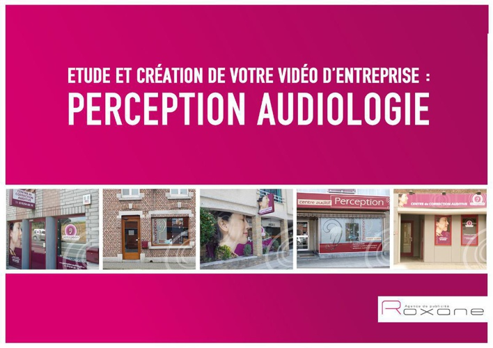 Story Board Perception audiologie Livret