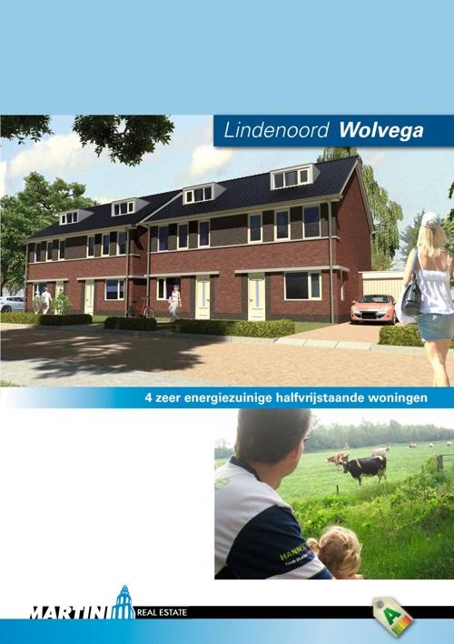 Project 4 woningen 'Lindenoord' Wolvega