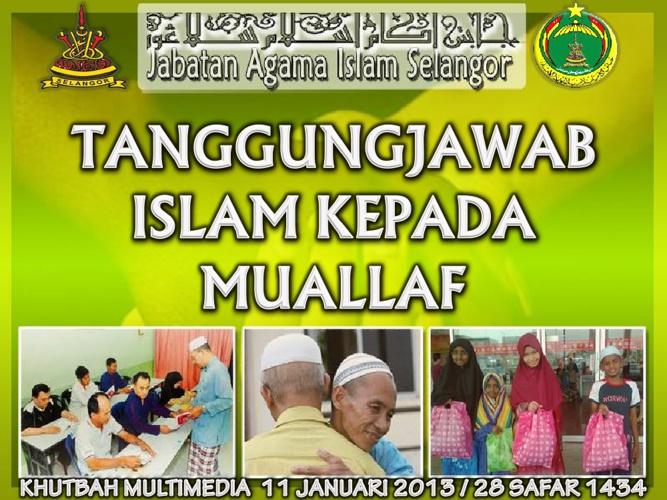 Khutbah Jumaat 11 Jan-2013