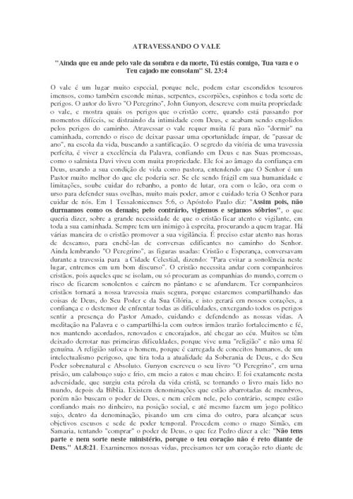 Copy of LIVRO ATRAVESSANDO O VALE -  Ap. Gisela Guth de Araújo