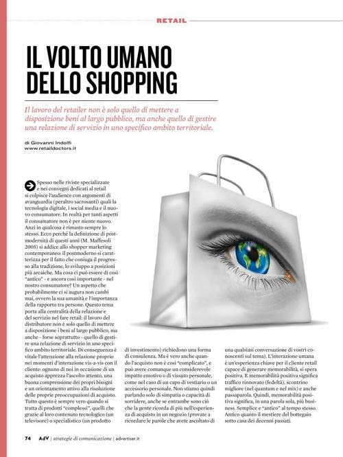 Il volto umano dello shopping
