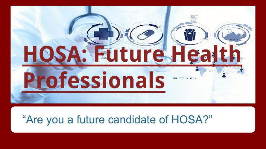 HOSA- Future Health Professionals FINAL E-BOOK