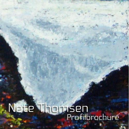 Nete Thomsen profilbrochure