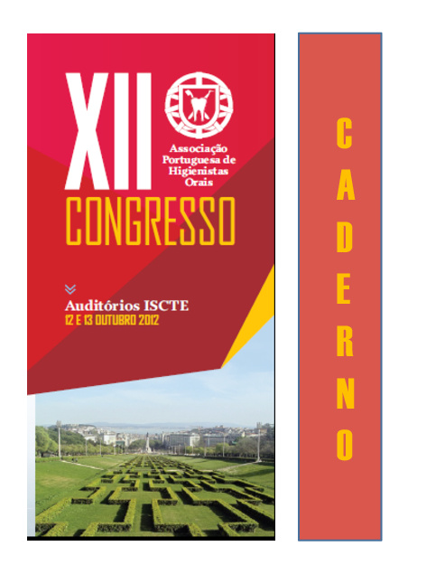 CADERNO DE CONGRESSO XII APHO