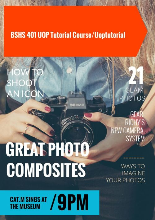 BSHS 401 UOP Tutorial Course/Uoptutorial