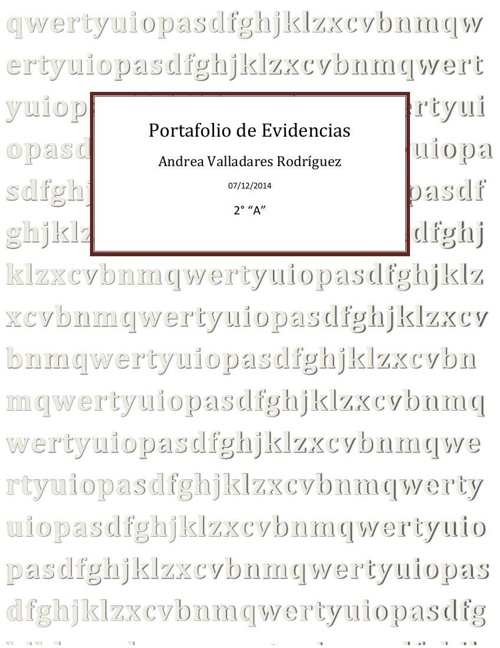 Portafolio de Evidencias1