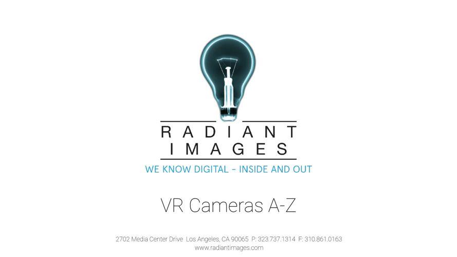 VR Cameras A-Z 2017-2018