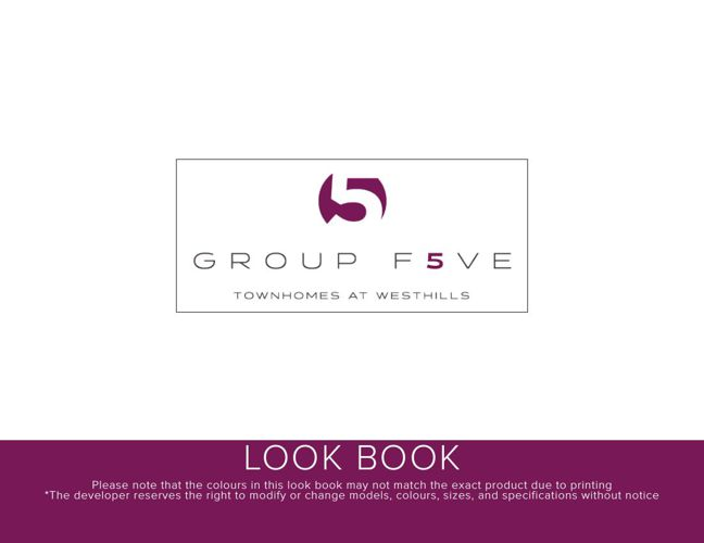 Group F5VE Look Book