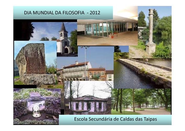 Dia Mundial da Filosofia - 2012