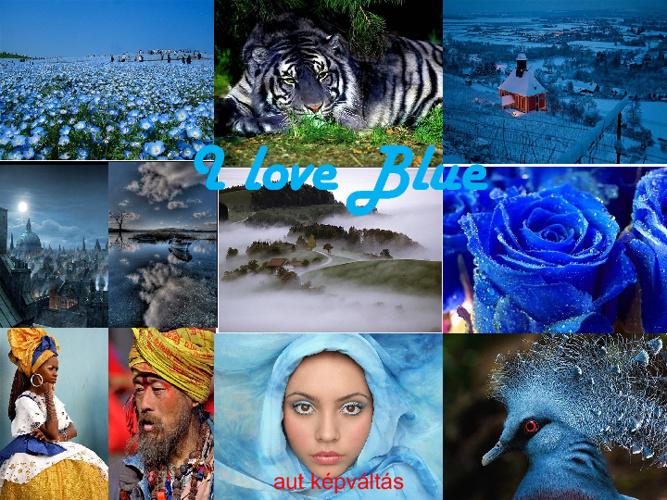 Παίζοντας με το γαλάζιο