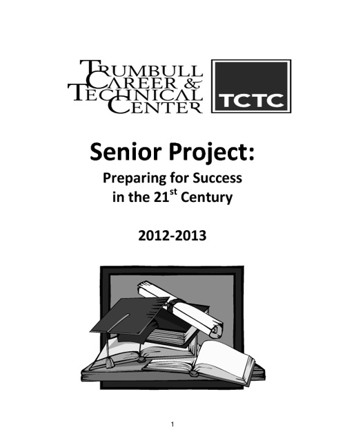 TCTC Senior Project Manual 2012-2013