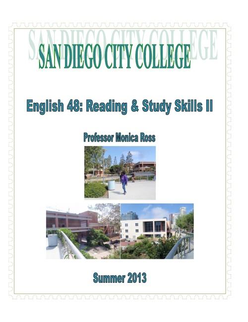English 48 Syllabus - Summer
