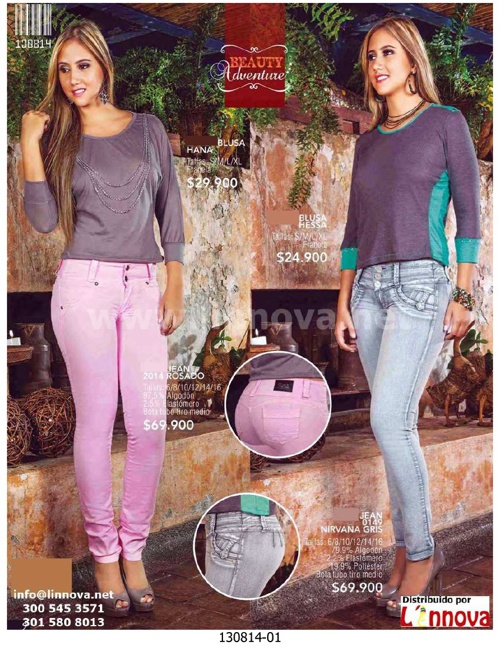 130814 - Jeans & Blusas - Catalogo