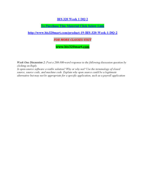 BIS 320 MART Peer Educator/ bis320mart.com