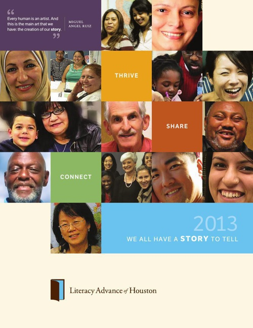 Literacy Advance 2013 Annual Report