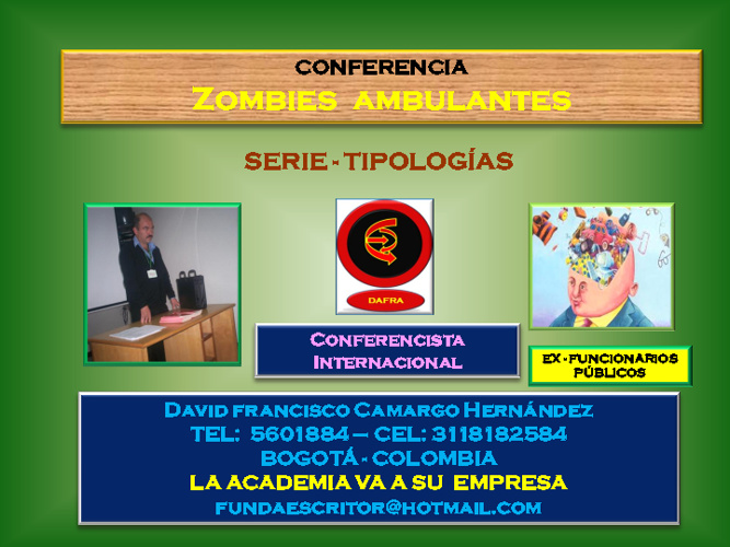 ZOMBIES AMBULANTES