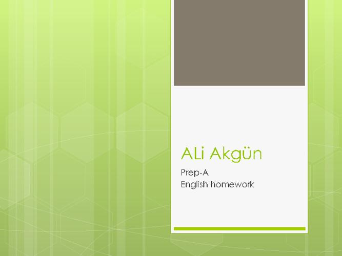 Ali's english homework_new flip