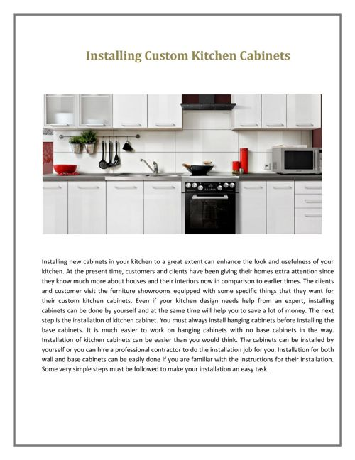 Meridian Kitchen Cabinets