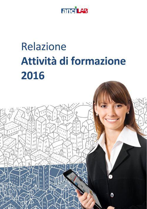 Relazione progetti formazione AnciLab 2016