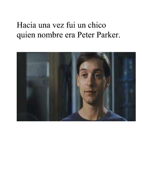 Spanish Oral Nick McDonald