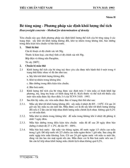 TCVN3115-1993-be tong nang-pp xac dinh khoi luong the tich