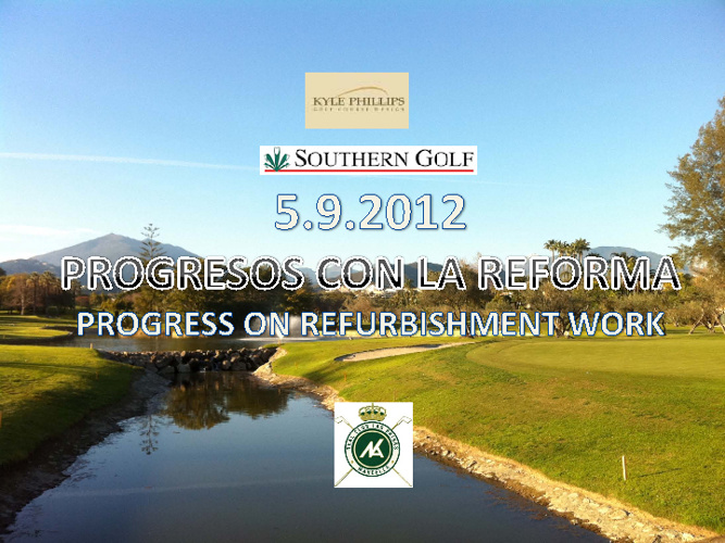 FINAL REPORT ON REFURBISHMENT WORKS SEPTEMBER 2012