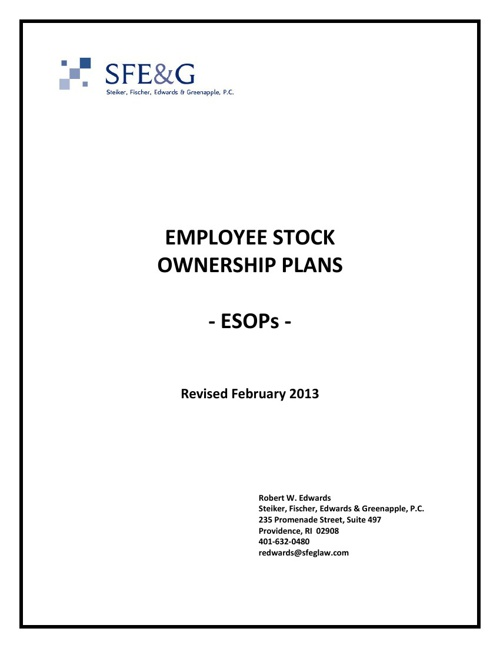ESOP Question & Answer Booklet