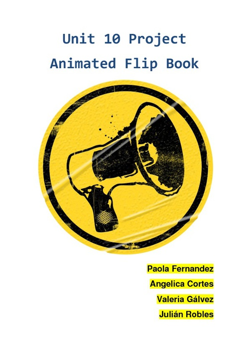 Unit 10 Project Animated Flip Book