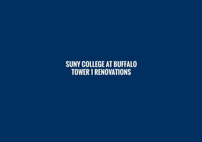 SUNY College at Buffalo Tower 1 Renovations