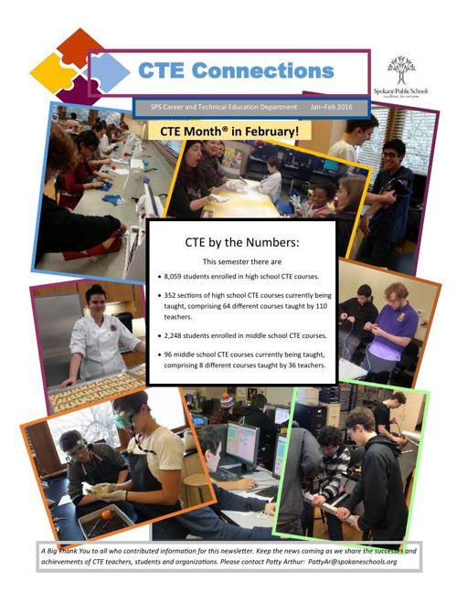 Newsletter CTE Connnections-Jan-Feb 2016