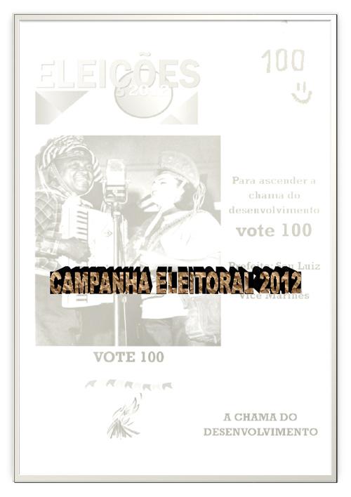 PROJETO CAMPANHA ELEITORAL 2012