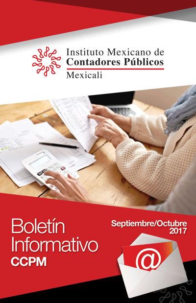 Boletín Informativo - Septiembre-Octubre 2017