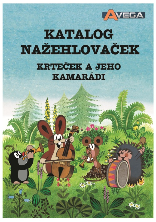 Avega - katalog Krteček a jeho kamarádi 2014