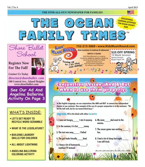 Ocean Family Times April 2013