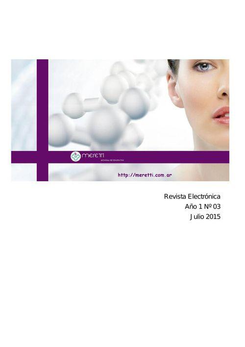 Meretti * Revista Electronica * Medicina Regenerativa